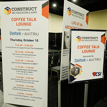 Print and Signage at CONSTRUCT