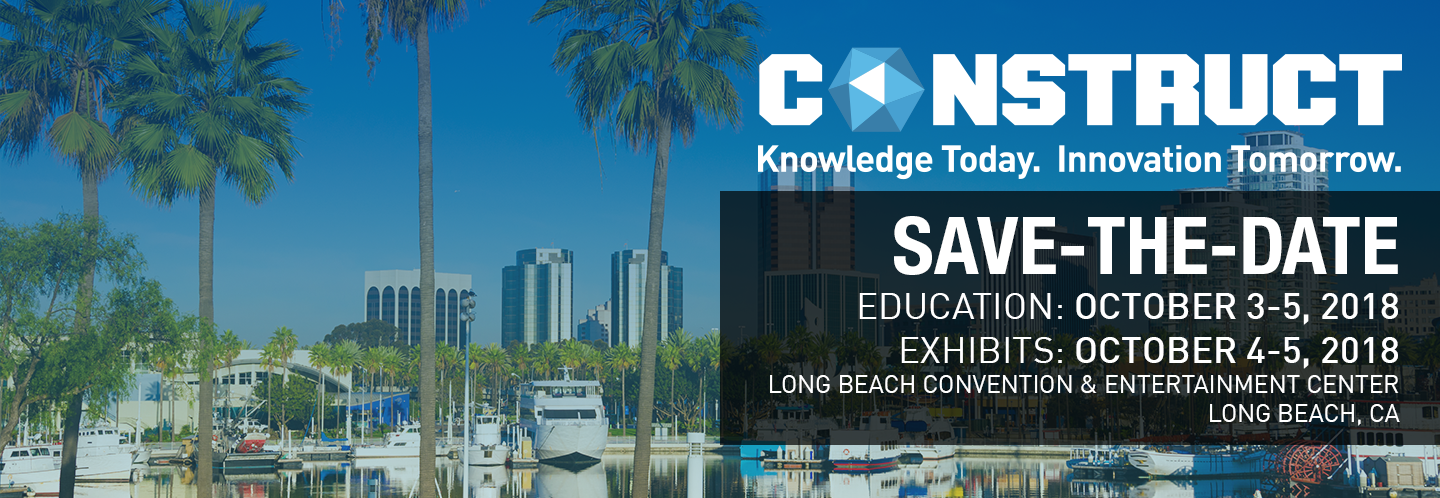 CONSTRUCT 2018 Save The Date