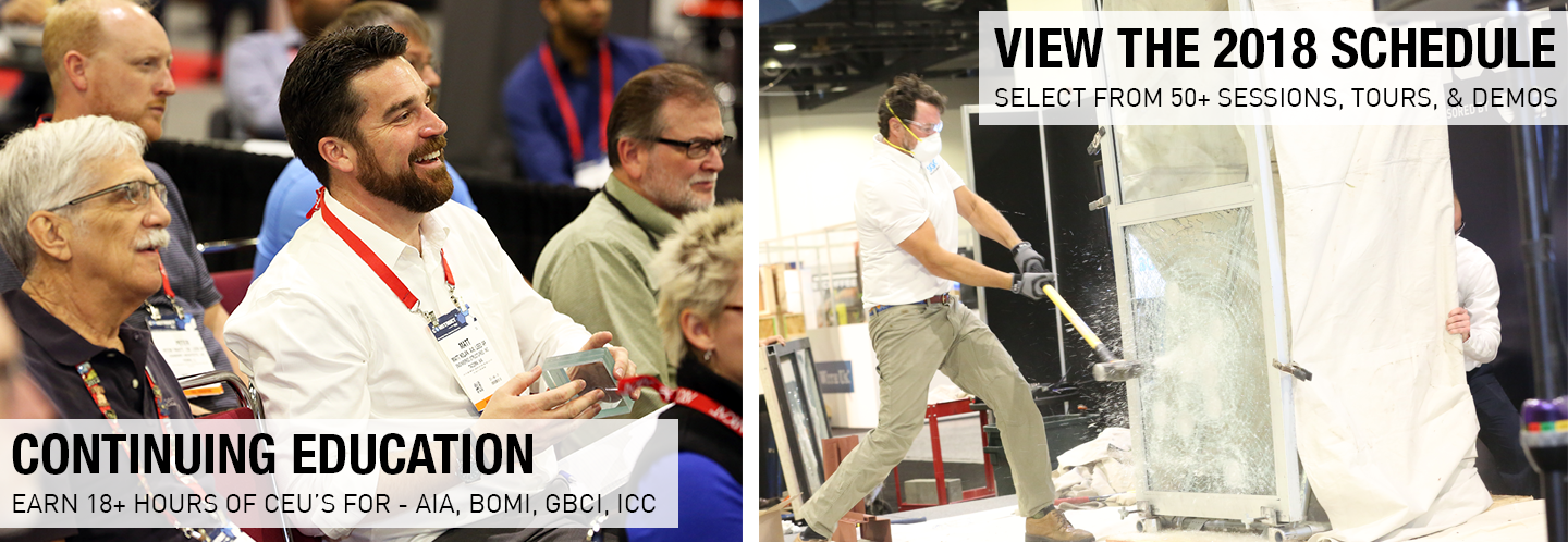 CONSTRUCT 2018 View the Schedule