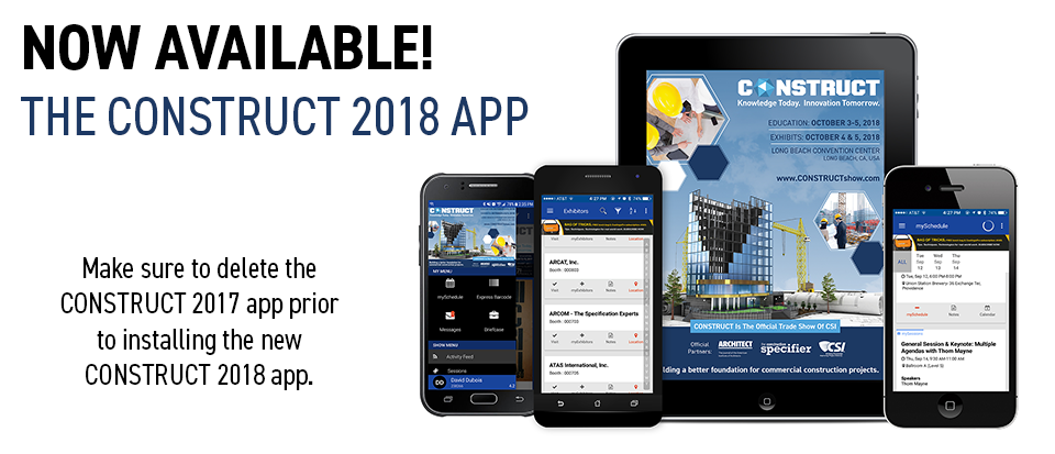 CONSTRUCT Show Mobile App