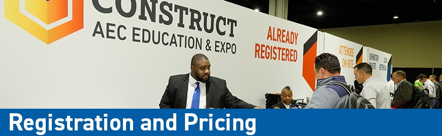Registration and Pricing